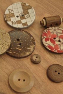 Wood & Coconut Buttons
