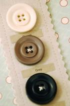Basic Chunky Coat Button