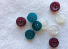 17-1049  x 10 Tiny Shirt Collar Buttons