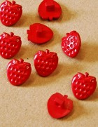 38-3028 strawberry button x 3