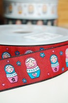 67-9406 30mm Russian Doll Ribbon  x 1m