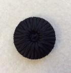 14-04038 Black Bound Shank Button