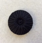 14-04038 Black Bound Shank Button