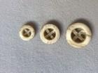 14-04054 Cream Button