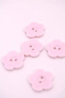 32L Pale Pink Flower Button