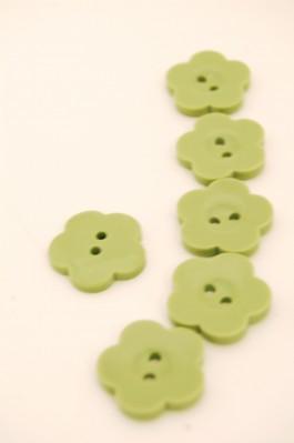 32L Sage Flower Button
