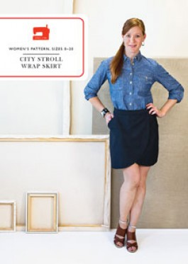 Liesel & Co City Stroll Wrap Skirt Pattern