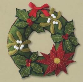 Christmas At Your Door Wreath Kit