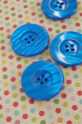 Large Bold Blue Button