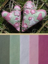 2 Victoriana Hearts Kit - Cinnamon Patch