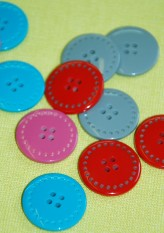 40-50974 36L Stitch Effect Button