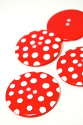 Red Giant Spotty Button - 80L