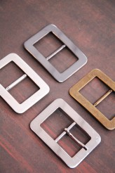 45-3511 Metal Buckle with or without Prong