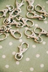 55-1010 shiny nickel chunky swivel clip