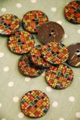 63-A2041 48L Printed Coconut Button