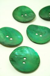 80L Agoya Shell Button Green Seconds Quality HALF PRICE