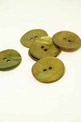 32L Agoya Shell Button Olive
