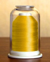 1051 Goldenrod Hemingworth Machine Embroidery & Quilting Thread