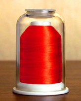1270 Christmas Red Hemingworth Machine Embroidery & Quilting Thread