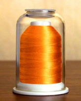 1065 Carrot Hemingworth Machine Embroidery & Quilting Thread