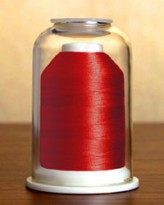 1224 Raspberry Red Hemingworth Machine Embroidery & Quilting Thread