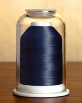 1201 Dark Blueberry Hemingworth Machine Embroidery & Quilting Thread