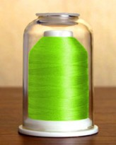 1272 Neon Green Hemingworth Machine Embroidery & Quilting Thread