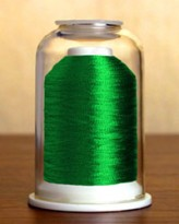 9015 Metallic Emerald Hemingworth Machine Embroidery & Quilting Thread