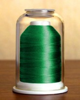 1108 Dark Kelly Green Hemingworth Machine Embroidery & Quilting Thread