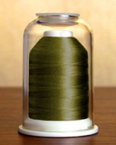 1123 Jungle Green Hemingworth Machine Embroidery & Quilting Thread