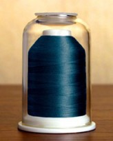 1194 Peacock Blue Hemingworth Machine Embroidery & Quilting Thread