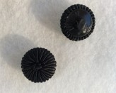 16-1014 Black Decorative  Shank Button Retail