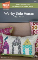 Wonky Little Houses Pillow Pattern - Such Designs