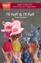I'll huff and I'll Puff Finger Puppet Pattern - Such Designs