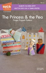 The Princess and The Pea Finger Puppet Pattern - Such Designs