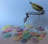 Mini Kilner Jar with 45g Buttons
