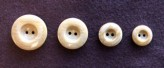17-1031 Imitation Wood Button x 1 Retail