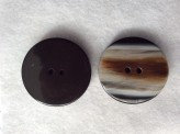 16-1030  70L Brown/Beige/Black coat button Limited Stock