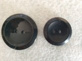 16-1006 Black Dish Button