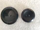 16-1006 Black Dish Button