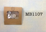 MB1107 - Agoya Shell Buttons in a Matchbook