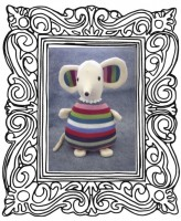 Moma Mouse Pattern - charlieduckdesigns