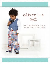 Oliver + S Art Museum Vest + Trousers Sewing Pattern