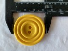03-2126 Yellow Record Button  x 1