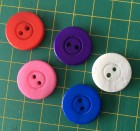 Mixed Colour Pack of 50  Buttons  32L  SPECIAL PRICE