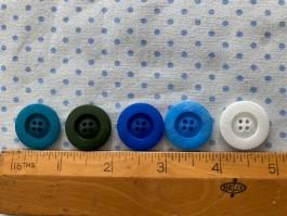 03-2103 4 hole button x 1
