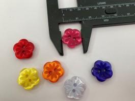 03-2112  Flower  Button  x 5
