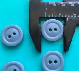 08-H003 Wedgewood Button x 6