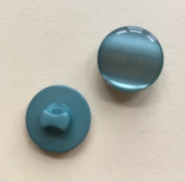 16-1025T Teal  Pearlised Shank Buttons x 5