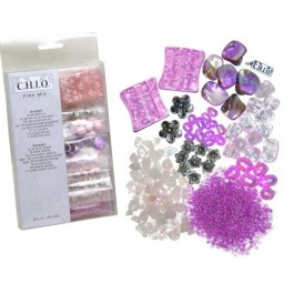 Chiq Bead Kit Pink 46-035 LIMITED STOCK